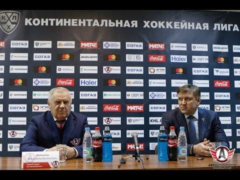 Автомобилист - Сочи: Пресс-конференция (4.01.2017)