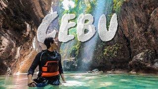 CEBU - CANYONEERING AND CLIFF JUMPING AT KAWASAN FALLS | TSL Travels