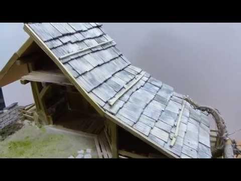 Krippenbau Hochalm, Bauanleitung, menta modellbau