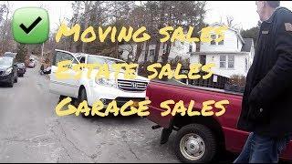 Сезон TAG SALES розпочато, домашня барахолка у американських домах. Moving sales, Connecticut.