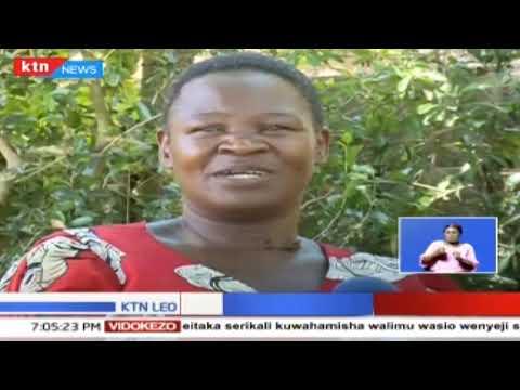 Katika eneo la Luanda mama mmoja amekaa na risasi shingoni mwake kwa miaka 15