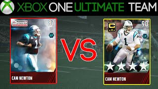 Madden 15 - Madden 15 Ultimate Team Card Review - 87 & 90 OVERALL ELITE CAM NEWTON | MUT 15 Card Rev