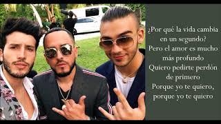 En Cero - Yandel & Sebastián Yatra & Manuel Turizo - (Lyrics)