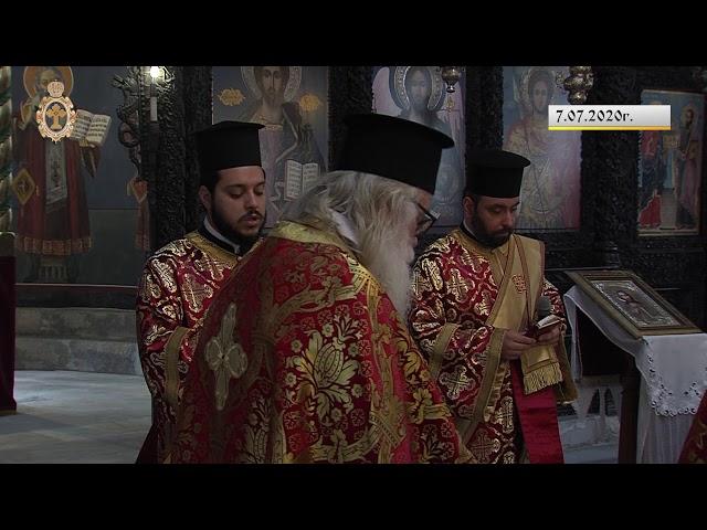 """7 юли 2020 г. - Архиерейска света Литургия храм """"Света Неделя"""", град Пловдив"""