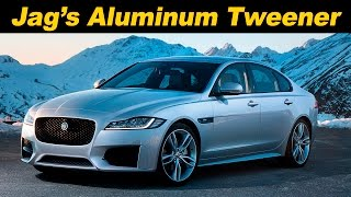 2016/17 Jaguar XF 35t Review and Road Test