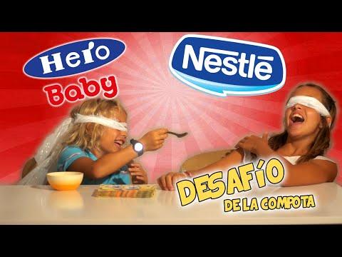 RETO DE LA COMPOTA    Hero Baby y Nestlé Naturnés