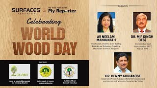 WORLD WOOD DAY by SURFACES REPORTER & PLY REPORTER