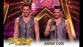 Fratelli Rossi Brothers Bring DANGER, TRUST & LOVE To a New Level! | America's Got Talent 2018