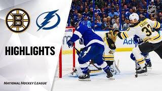 NHL Highlights | Bruins @ Lightning 3/3/20
