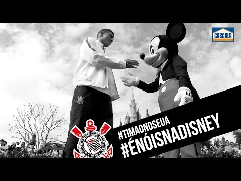 #TimãonosEUA | É nóis na Disney!