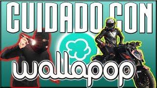 CUIDADO CON WALLAPOP intentan ROBARME MI MOTO estafandome