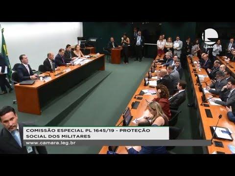Reforma da Previdência dos Militares - Discussão e votação do parecer do relator - 02/10/2019- 14:45