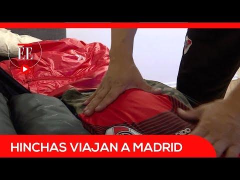Hinchas de Boca y River viajan a Madrid para la final de la Libertadores   El Espectador