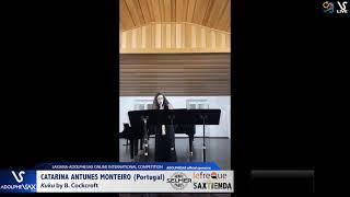 Catarina ANTUNES MONTEIRO plays  KUKU by B. Cockcroft #adolphesax