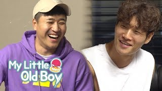 "Kim Jong Kook ""Why is Kim Jong Min here at this hour?"" [My Little Old Boy Ep 107]"
