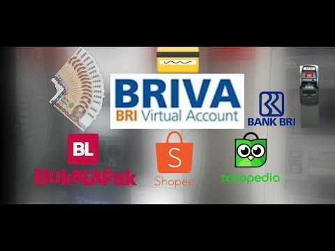 Cara Membayar Melalui Virtual Account [BRIVA] Di ATM BRI