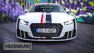 Download Youtube: [HOONIGAN] DT 147: Audi TT Clubsport Biturbo 600HP AWD Monster