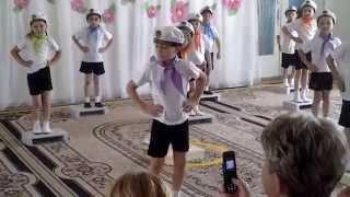 Ритмічна гімнастика на степ-платформах в старшій групі