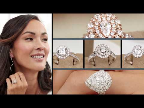 Bridal Style Stories: Halo Rings