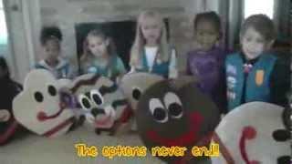 Girl Scout Daisy Troop 7405 Cookie Rap