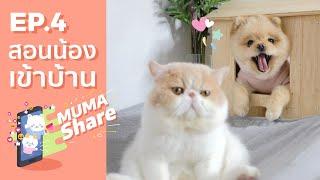 MUMA Share EP 4 : สอนน้องเข้าบ้าน 🏡