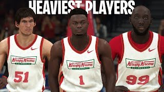 Can The Heaviest Players In The NBA Win A Championship? | NBA 2K20