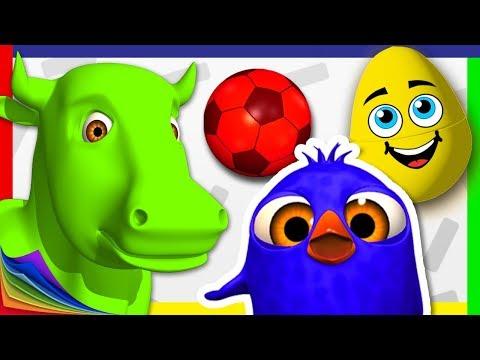 Aprende los Colores con Juegos educativos de La Granja de Zenón | A Jugar