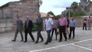 preview picture of video 'El Govern cedeix  sa Farinera a l'Ajuntament de Llubí'