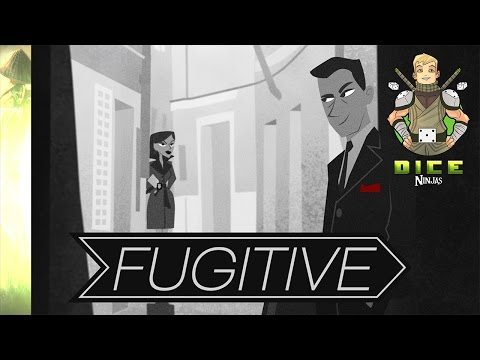 "Kickstarter Unboxing - Fugitive (The ""Catch me if you can"" of Card games)"