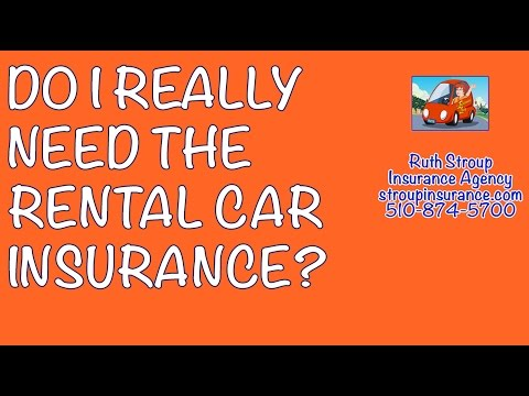 Do I Really Need The Rental Car Insurance? Ruth Stroup Insurance Agency