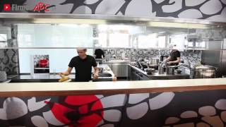preview picture of video 'Aisa Restaurant: Wok & Tea Restaurant in Traiskirchen, Bezirk Baden - Teppanyaki- u. Wok-Gerichte'
