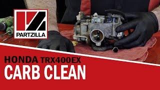 Honda 400EX ATV Carb Rebuild & Cleaning   Partzilla.com