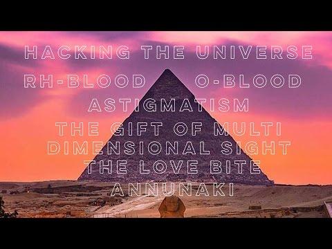 RH Negative Blood O Blood Astigmatism Annunaki Love Bite Walkin Soul PART 1