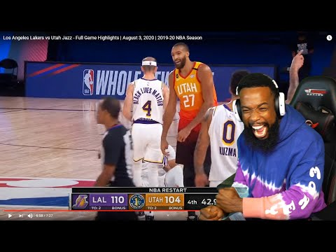 LEBRON AND AD EMBARRASED DPOTY! Los Angeles Lakers vs Utah Jazz – Full Game Highlights