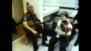Doc Watson and Michael Cleveland Meet For the First Time