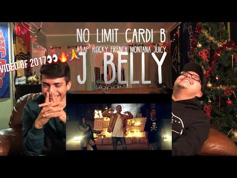G Eazy- No Limit REMIX Cardi B French Montana A$AP Rocky Juicy J & Belly(Music Video)| Reaction