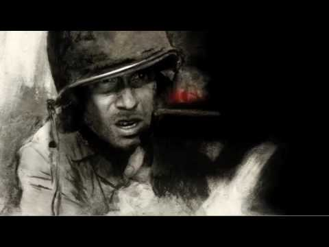 Video trailer för The Pacific Main Title Sequence (Animatic) - Intro - Opening Credits - Director's Cut