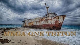 Mega One Triton - Shipwreck in Grand Turk
