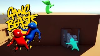 Gang Beasts - OUT!!! STORE IS CLOSING!!! [Father and Son Gameplay]