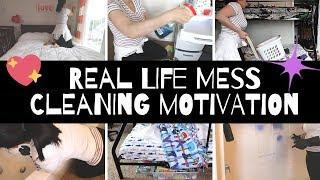 WHOLE HOUSE CLEAN WITH ME || LIVED IN HOUSE CLEAN UP || MESSY HOUSE CLEANING MOTIVATION ||
