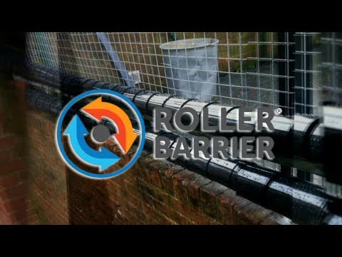 Introducing Roller Barrier the Anti Climb Solution of Choice