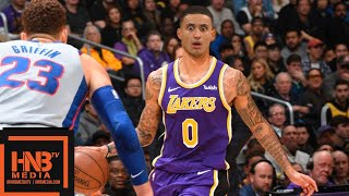 Los Angeles Lakers vs Detroit Pistons Full Game Highlights | 01/09/2019 NBA Season