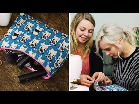 Nähen für Dummies feat DIY Eule #2 Kosmetiktäschchen | DIY  | nähen lernen