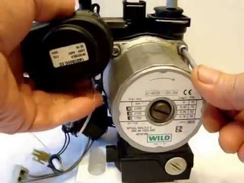 Циркуляционный насос газового котла - Профилактика и ремонт.