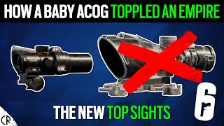 The Top Sights, How the Baby ACOG toppled an Empire - 6News - Rainbow Six Siege