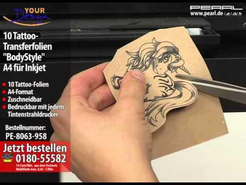 Your Design 10 Tattoo-Transferfolien
