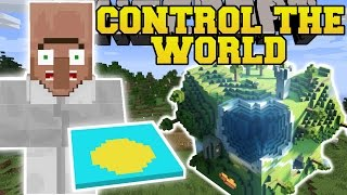 Minecraft: CONTROL THE WORLD MOD (CONTROL WEATHER, CONTROL TIME, SUPER JUMP,&MORE!) Mod Showcase,