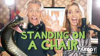 """Standing On A Chair 🐍 - """"Living On A Prayer"""" Parody"""