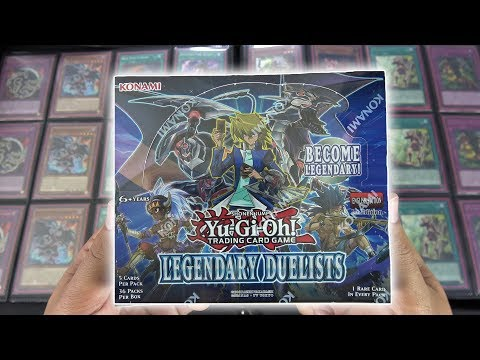 MASSIVE YuGiOh Legendary Duelist MASTER Set Box Opening & Review! OH BABY!!