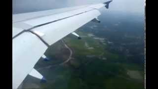 preview picture of video 'Agartala Flight Landing'